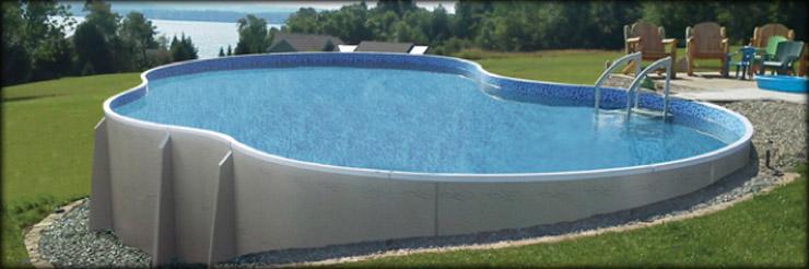 Les piscines hors sol type et tarifs maison online - Piscine hors sol impot ...