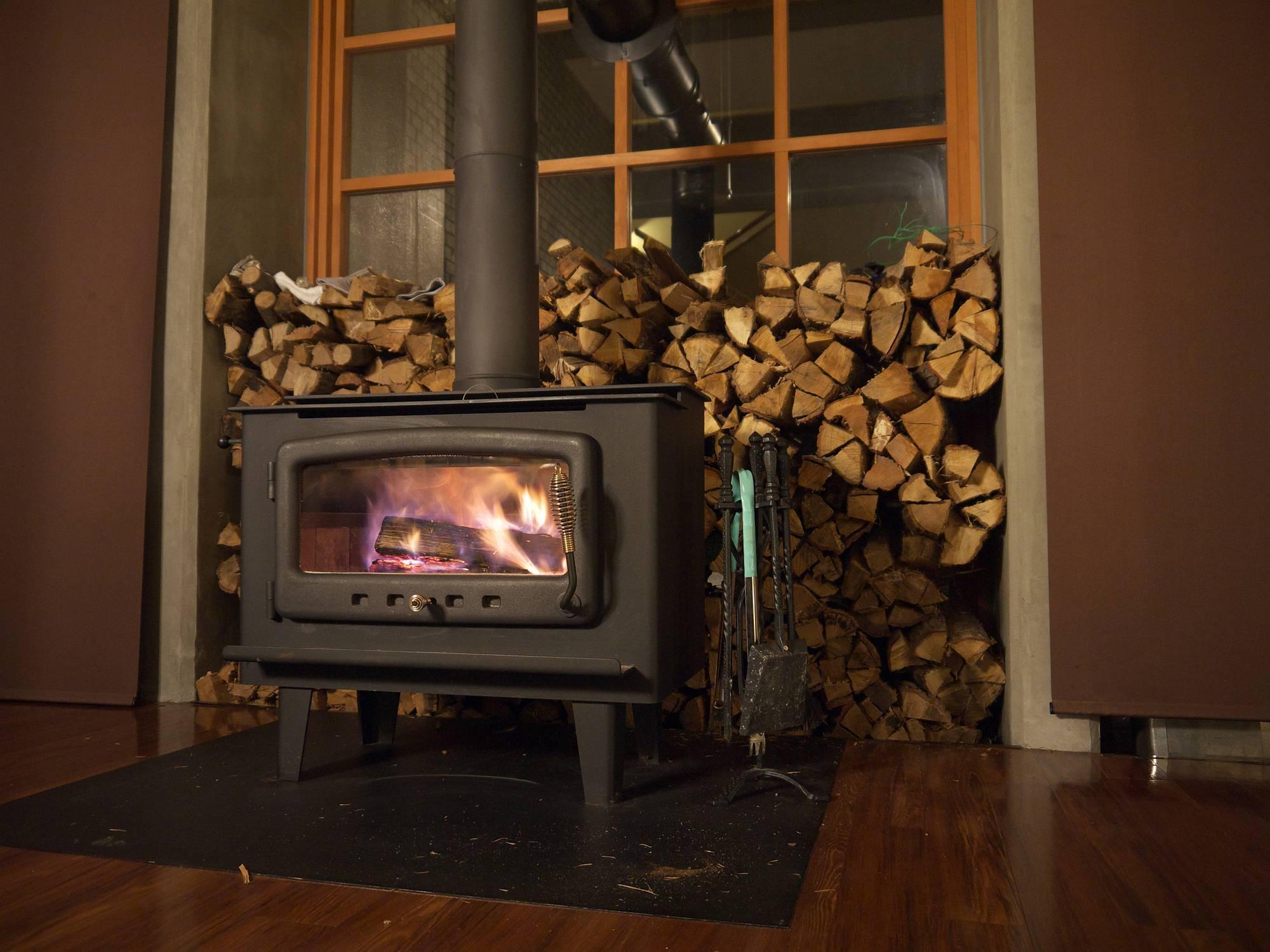 poêle à bois chauffage